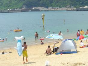 盆明けの浜辺2