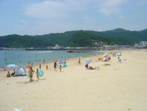 盆明けの浜辺1