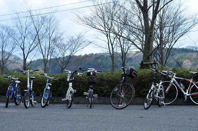 愛しの自転車軍団