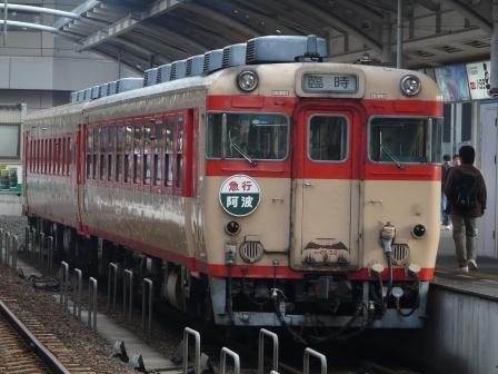 キハ58・65 急行 「阿波」 2