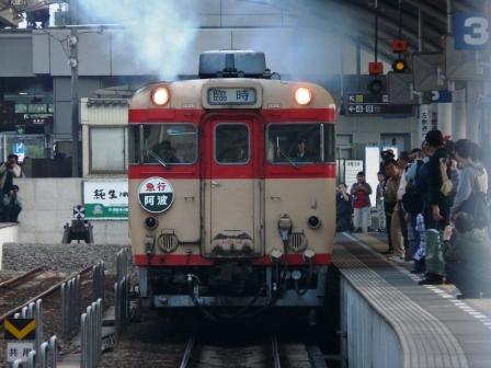 キハ58・65 急行 「阿波」 4