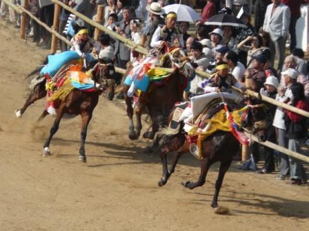 お供馬の走り込み 2