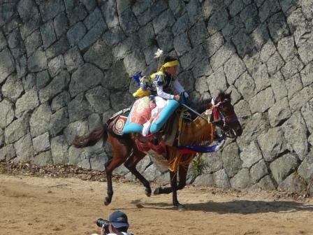 お供馬の走り込み 7