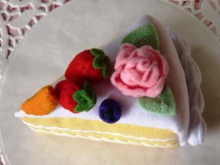 バースデーケーキ・1カット 2