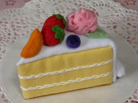 バースデーケーキ・1カット 1