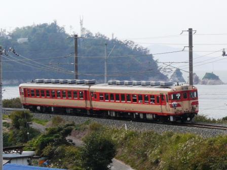 キハ58・65 急行 「いよ」 1