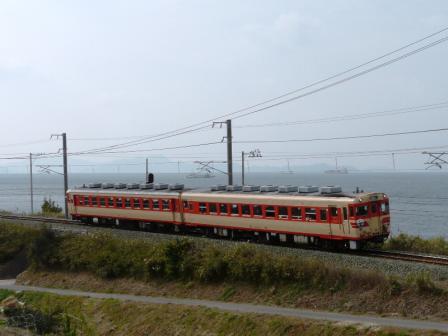 キハ58・65 急行 「いよ」 2