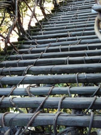 祖谷のかずら橋 4