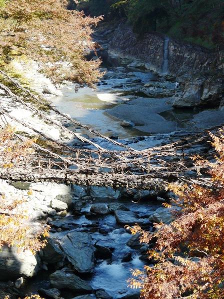 祖谷のかずら橋 2