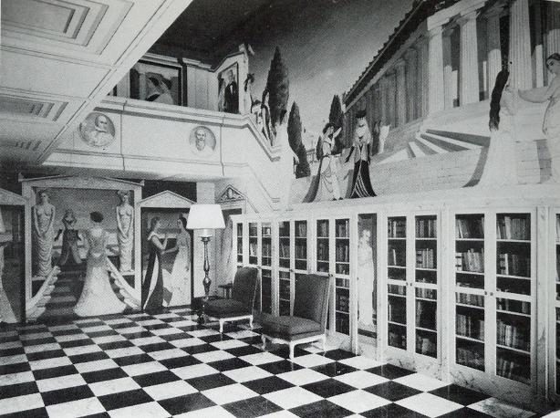 ジルベール・ペリエ邸の壁画 1954~1956