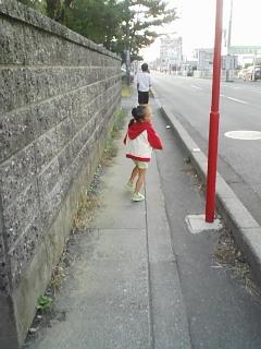お散歩 長女