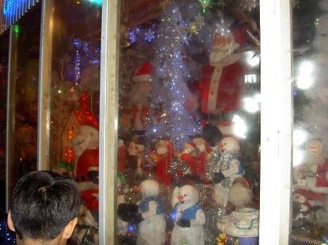 サンタさん たくさ~ん!!