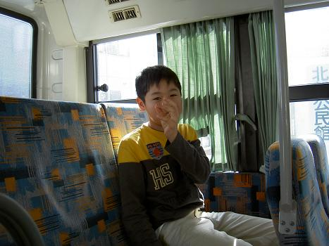 バスにて いやな笑い・・・