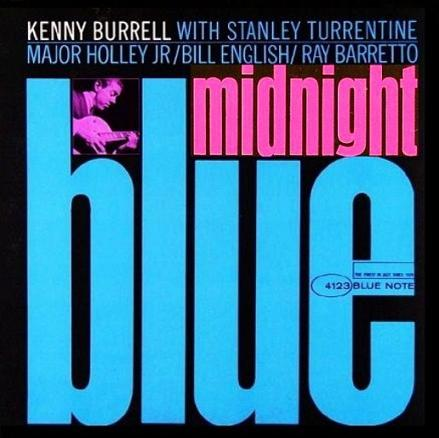 Kenny Burrell Midnight Blue Blue Note BLP 4123