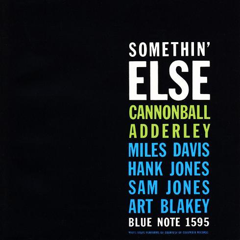 Cannonball Adderley Somethin Else Blue Note BLP 1595