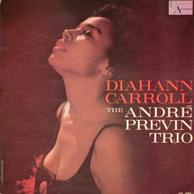 Diahann Carroll The Andre Previn Trio United Artists UAL 3069