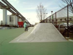 立川スケートパークバンク角度