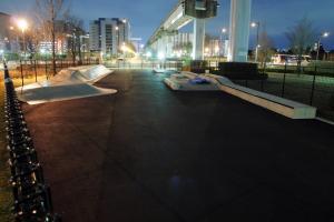 立川のスケートパーク
