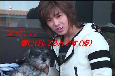 papa and dog
