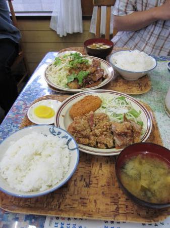 6/19和(かのう)定食屋
