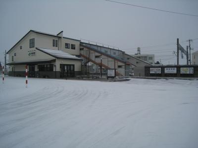 1.駅舎遠景