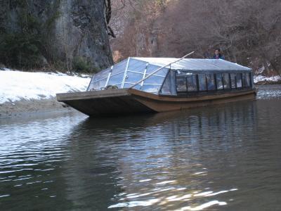 舟下りの船①