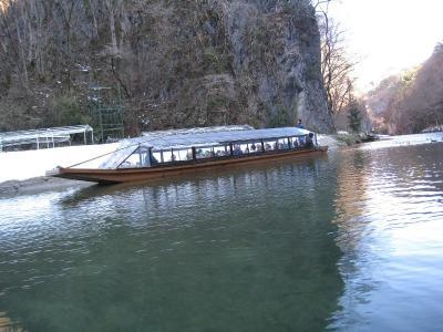 舟下りの船②