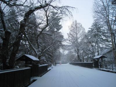 武家屋敷 冬2