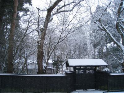 武家屋敷 冬3