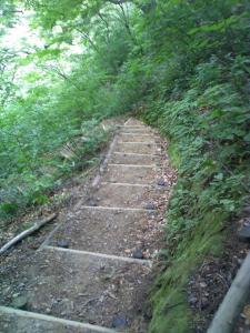 大滝への道2