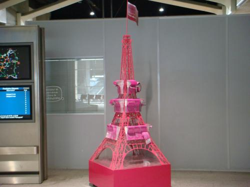 Tour Eiffel at Charles de Gaulle Airport