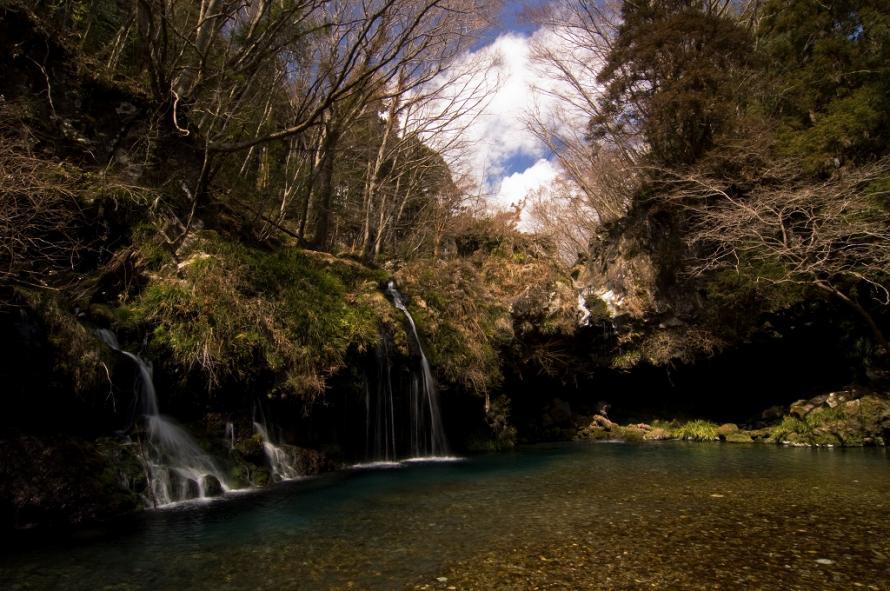 陣馬の滝3