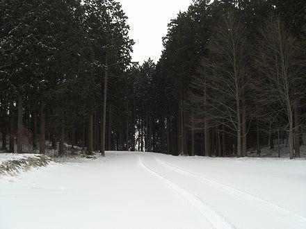 鷹山公園入り口