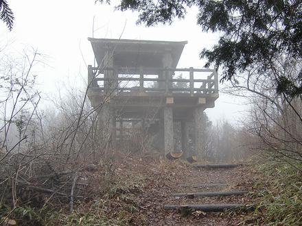 阿波竜王山山頂