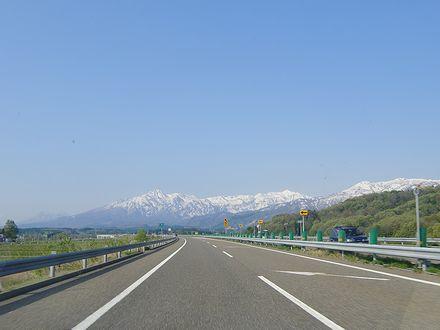 上信越道からの妙高山