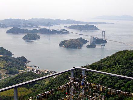 亀老山展望台からの来島海峡
