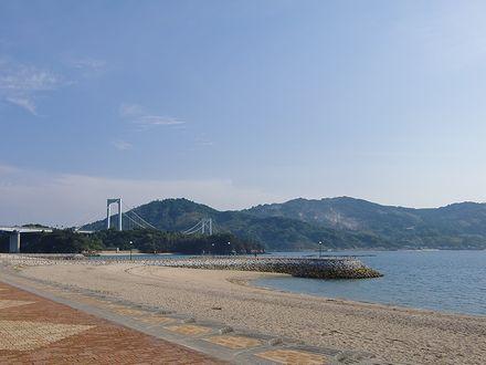 伯方S・Cパークから伯方・大島橋