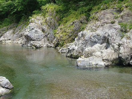 今年4回目の穴吹川
