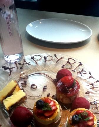 Birthdayプレート