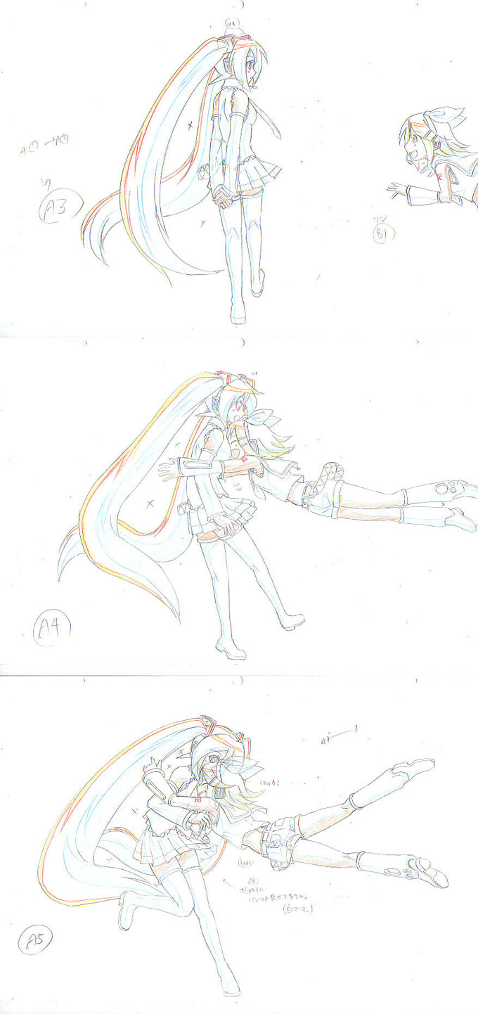 ミクアニメの一部-小
