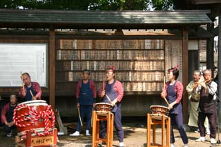 太田若宮八幡宮例大祭09-05-10(5)天神囃子