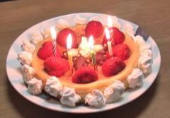 シュンヤ・バースデーケーキ