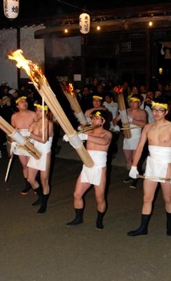 毛越寺・二十日夜祭