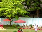 平泉毛越寺の「曲水の宴」