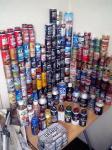 缶コーヒータワー