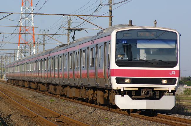 2012年3月29日 MUE train ケヨ34
