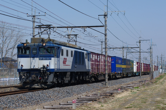 2012年3月29日 MUE train EF64-1017