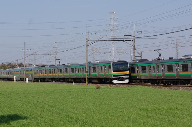 2012年3月29日 MUE train 離合