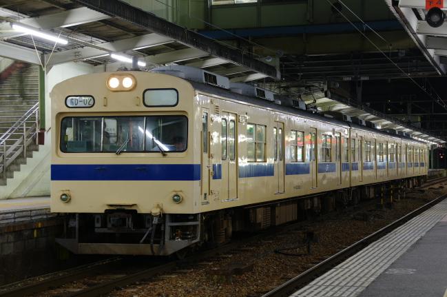 2012年3月20~23日 広島旅行 広島B 2日目 103系
