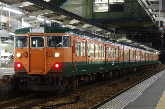 2012年3月20~23日 広島旅行 広島B 2日目 113系